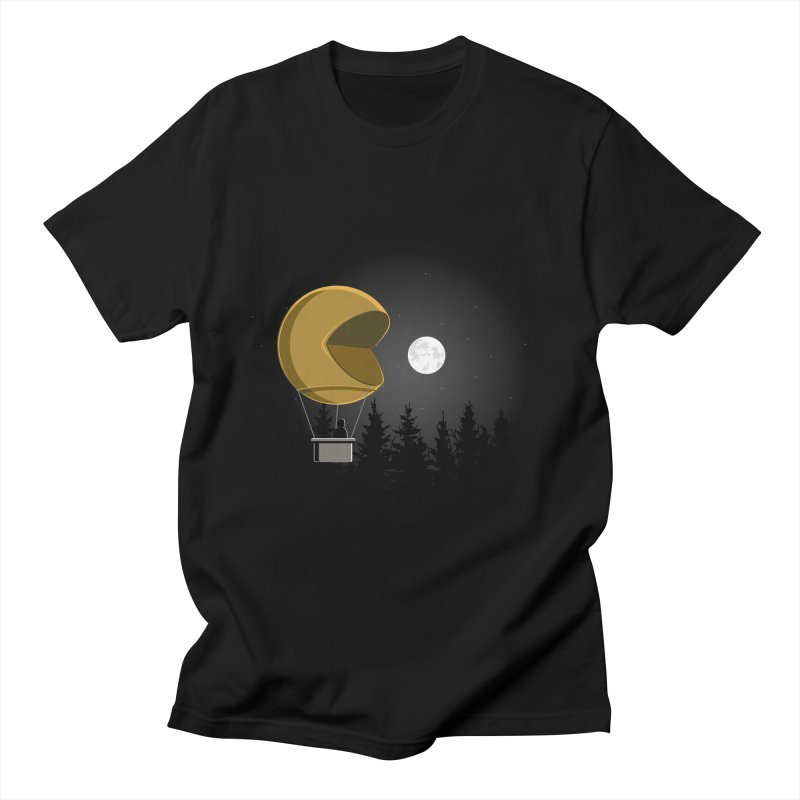 Pacmoon Men's T-shirt by jair aguilar's Shop