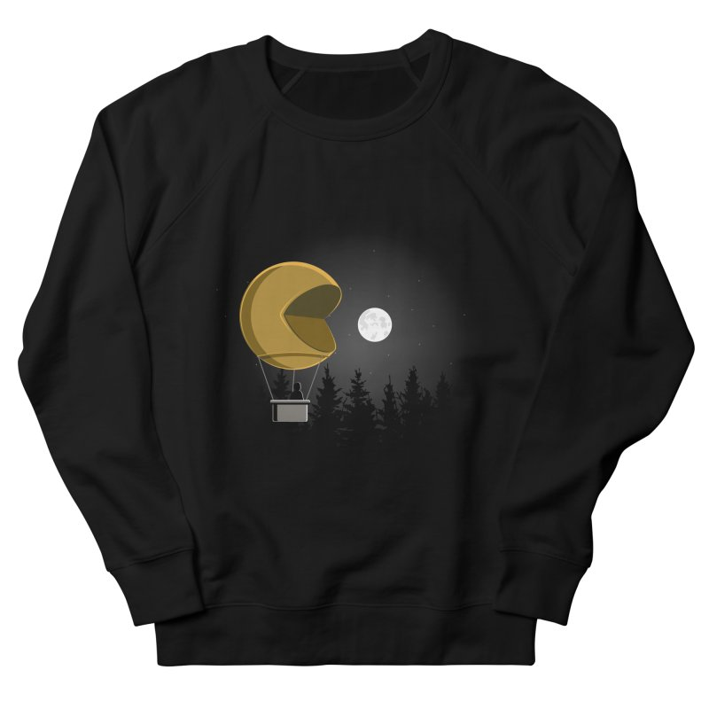 Pacmoon Men's Sweatshirt by jair aguilar's Shop