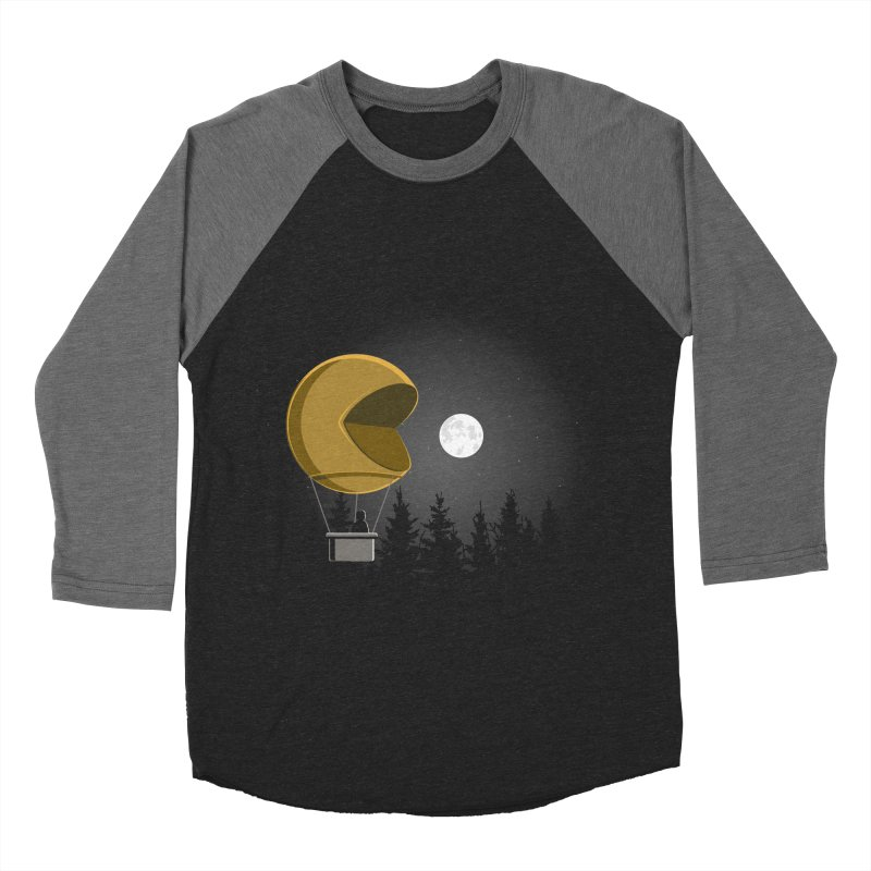 Pacmoon Women's Baseball Triblend Longsleeve T-Shirt by jair aguilar's Shop