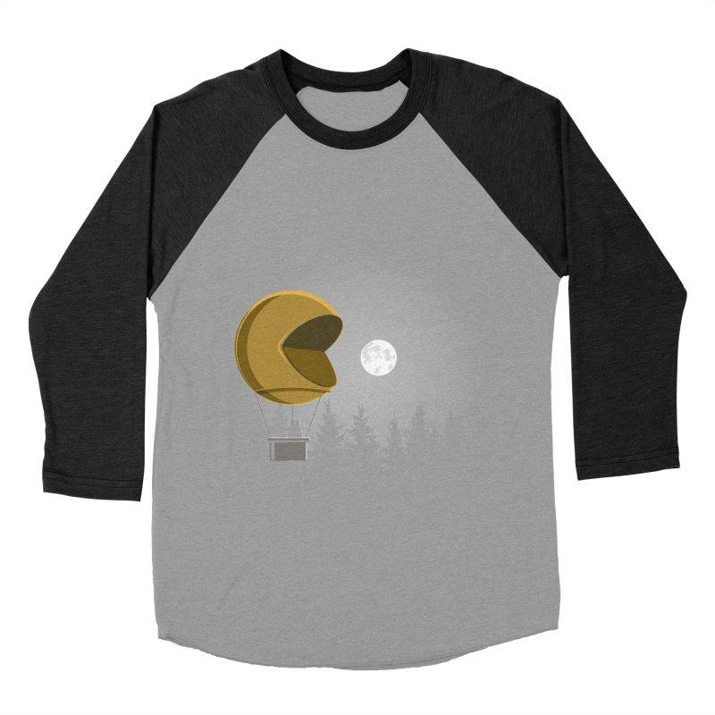 Pacmoon Men's Baseball Triblend Longsleeve T-Shirt by jair aguilar's Shop