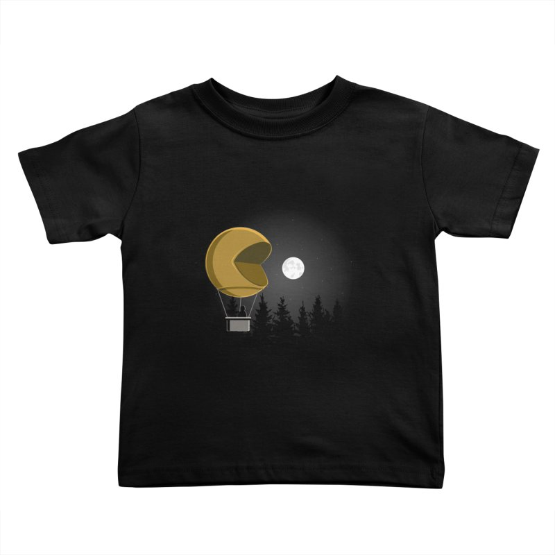 Pacmoon Kids Toddler T-Shirt by jair aguilar's Shop