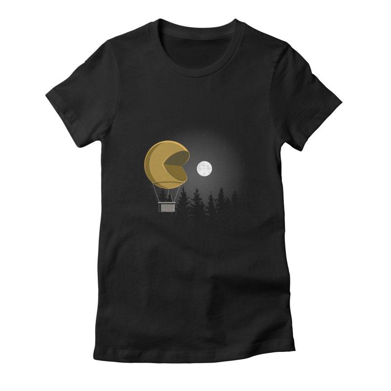 Pacmoon Women's T-Shirt by jair aguilar's Shop