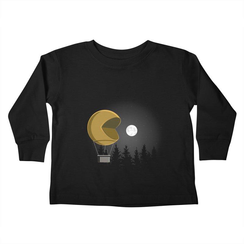 Pacmoon Kids Toddler Longsleeve T-Shirt by jair aguilar's Shop