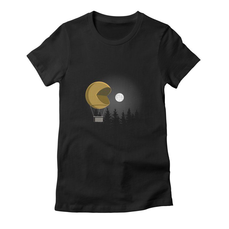 Pacmoon Women's T-Shirt by jair aguilar's Shop