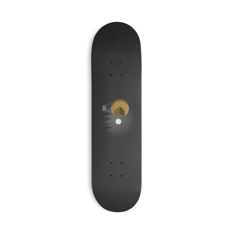 Pacmoon Accessories Skateboard by jair aguilar's Shop