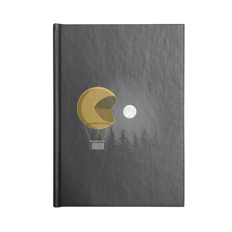 Pacmoon Accessories Notebook by jair aguilar's Shop