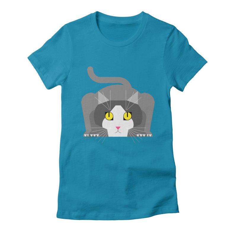 Lizzy Women's Fitted T-Shirt by jairo fula