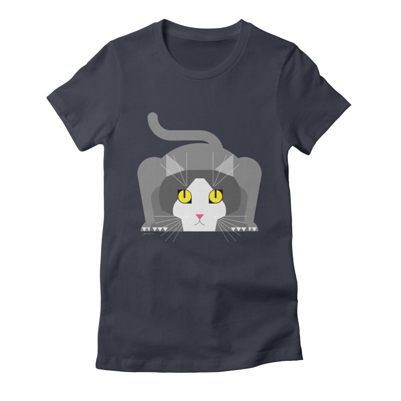 Lizzy Women's Fitted T-Shirt by jairo fula