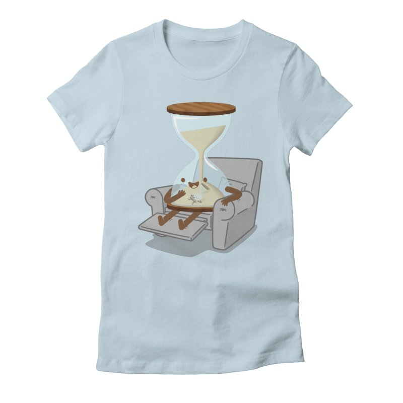 Felt a Kick! Women's Fitted T-Shirt by Jake Friedman