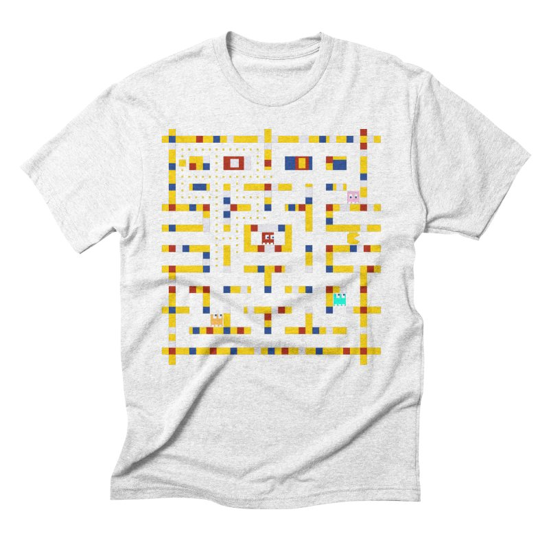 Pac-Man Boogie Woogie Men's Triblend T-shirt by Jake Friedman