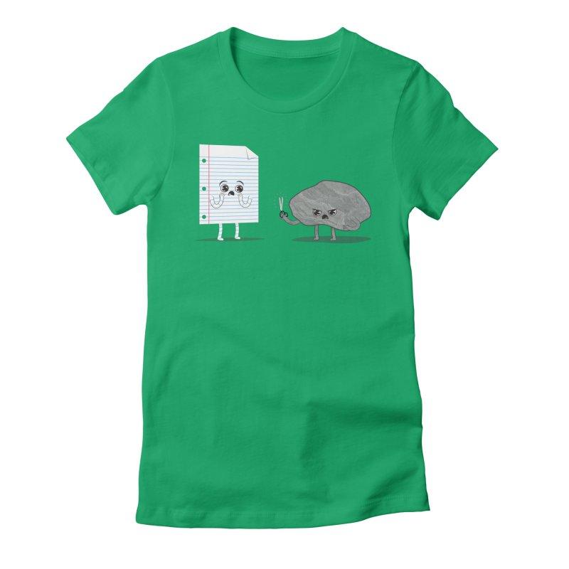 Rock's Revenge Women's Fitted T-Shirt by Jake Friedman