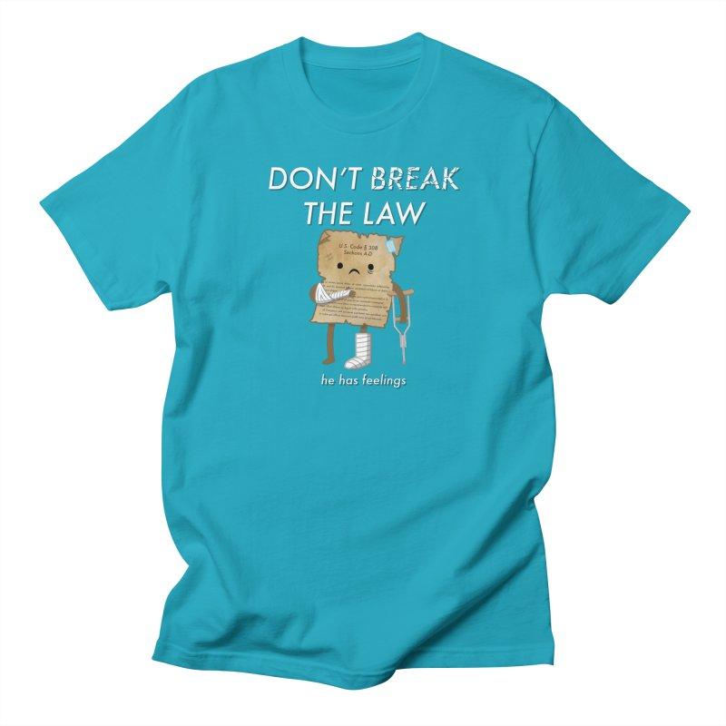 Breaking The Law Men's T-Shirt by Jake Friedman