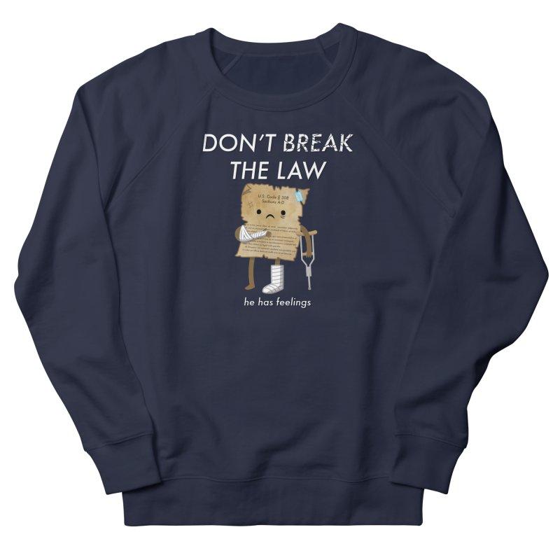 Breaking The Law Men's Sweatshirt by Jake Friedman