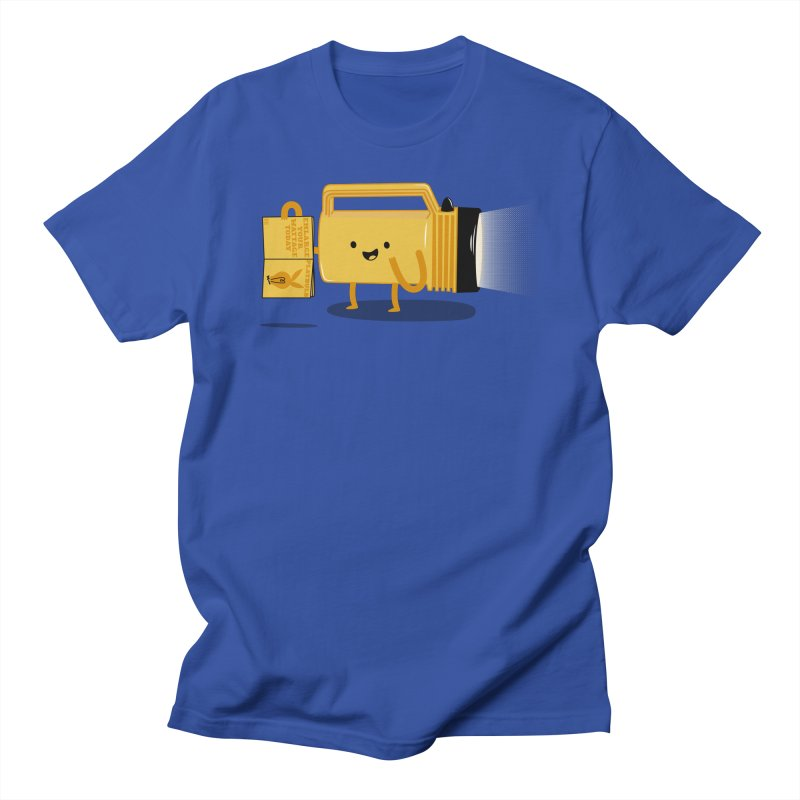 Turned On Men's T-Shirt by Jake Friedman