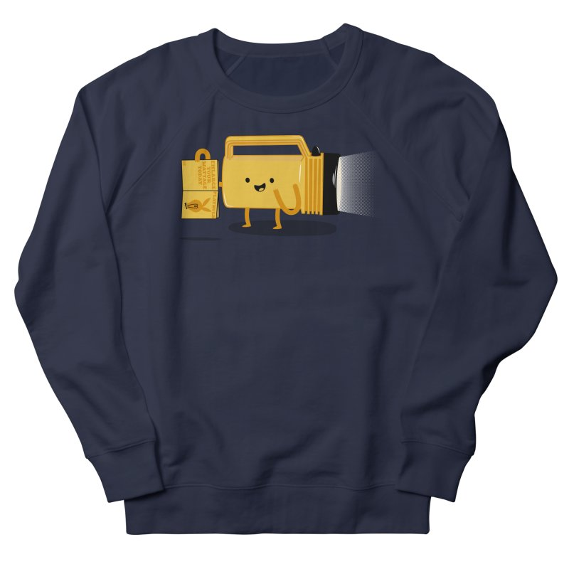 Turned On Men's Sweatshirt by Jake Friedman