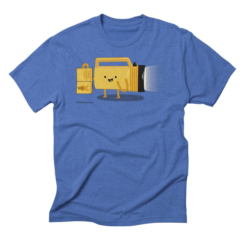 Turned On Men's Triblend T-shirt by Jake Friedman