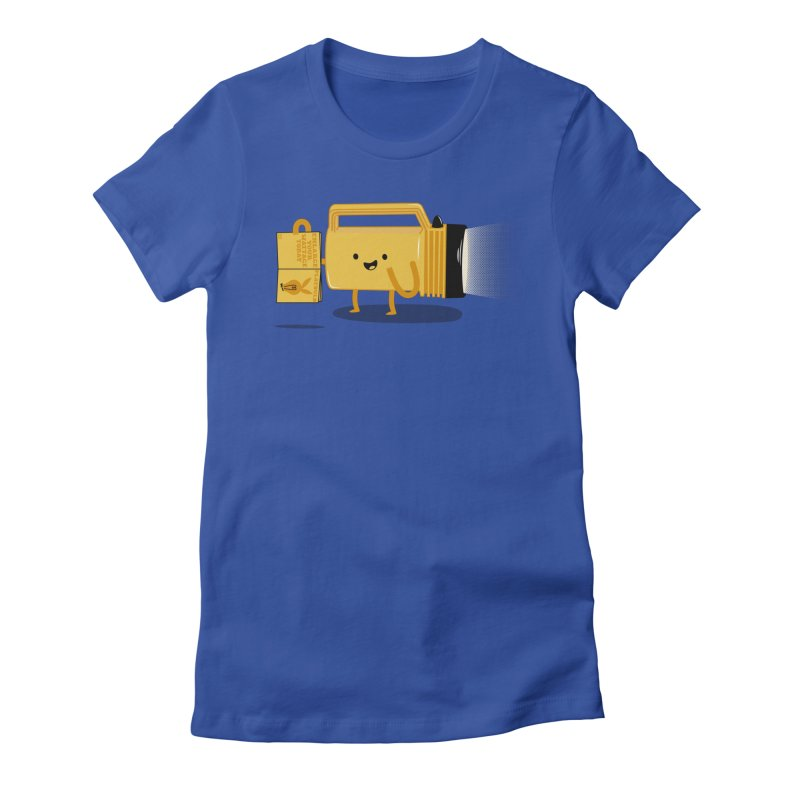 Turned On Women's Fitted T-Shirt by Jake Friedman