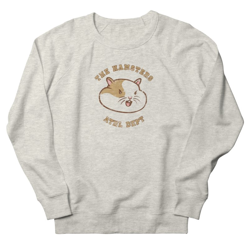 Varsity Hamsters Men's French Terry Sweatshirt by Jake Giddens' Shop