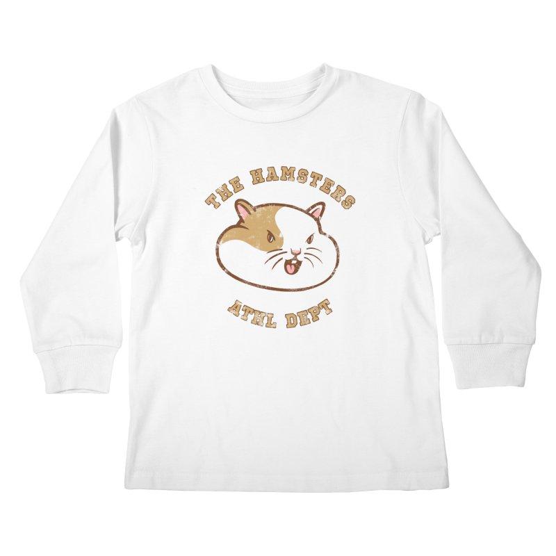 Varsity Hamsters Kids Longsleeve T-Shirt by Jake Giddens' Shop