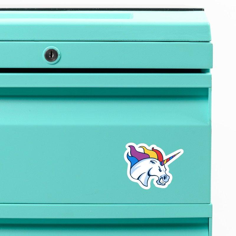 Unicorns Varsity Accessories Magnet by Jake Giddens' Shop
