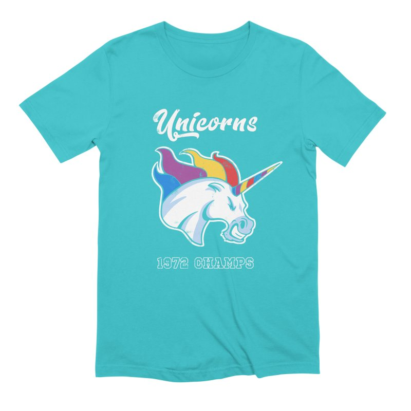 Unicorns Varsity Men's Extra Soft T-Shirt by Jake Giddens' Shop