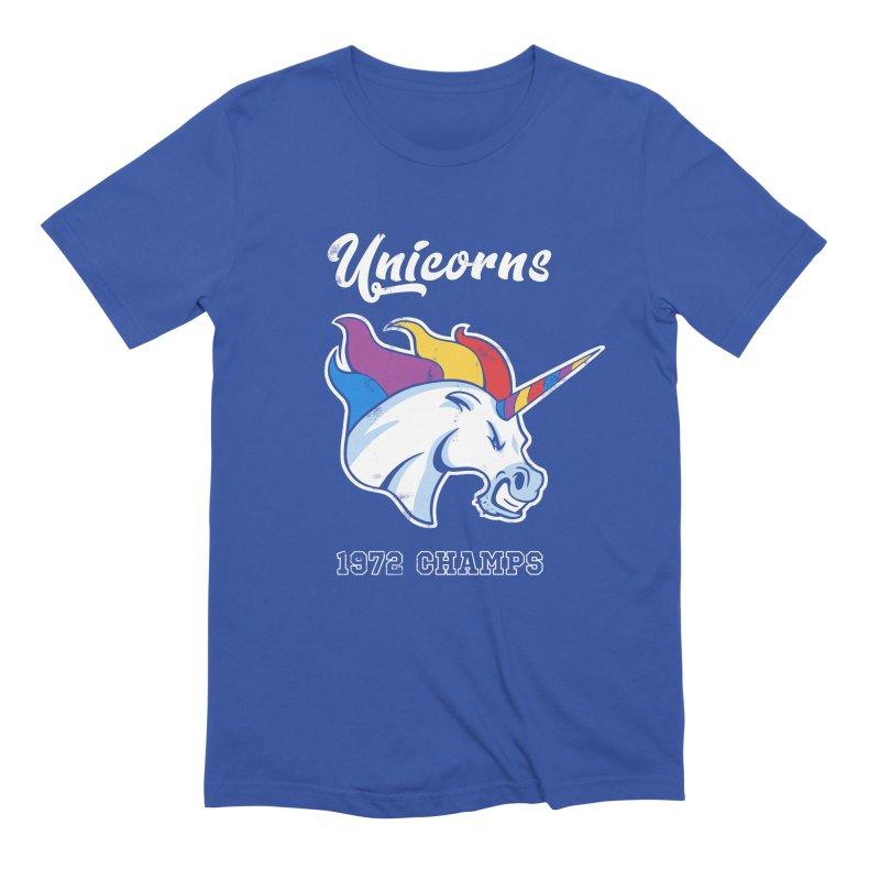 Unicorns Varsity Men's Extra Soft T-Shirt by Jake Giddens' Shop