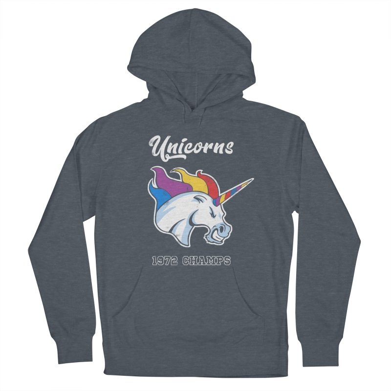 Unicorns Varsity Women's French Terry Pullover Hoody by Jake Giddens' Shop