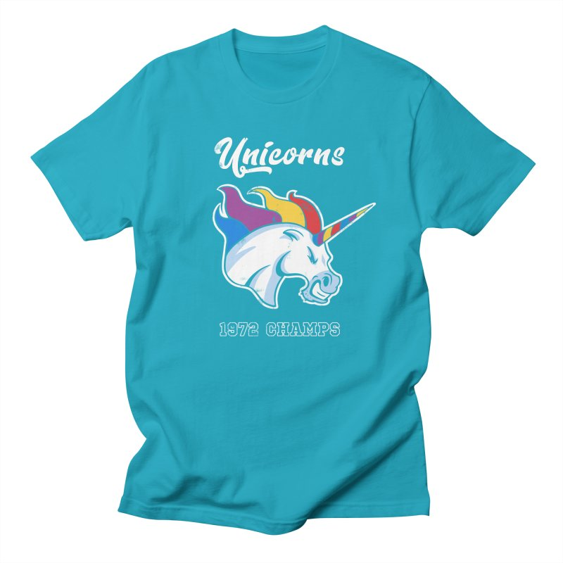 Unicorns Varsity Men's Regular T-Shirt by Jake Giddens' Shop