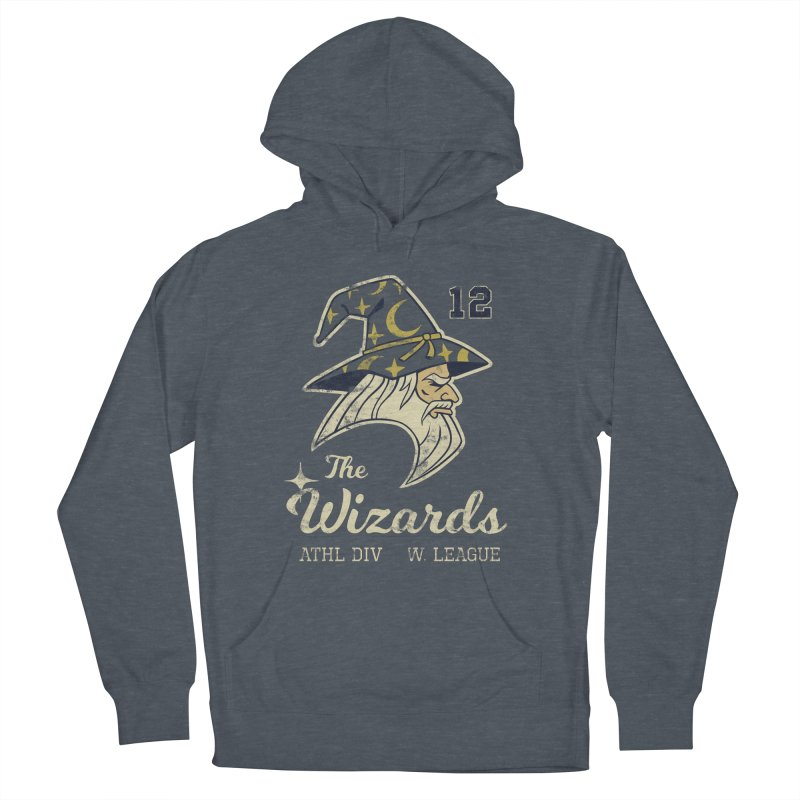 Wizards Varsity Women's French Terry Pullover Hoody by Jake Giddens' Shop
