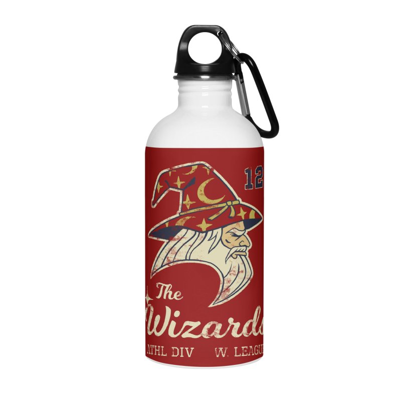 Wizards Varsity Accessories Water Bottle by Jake Giddens' Shop