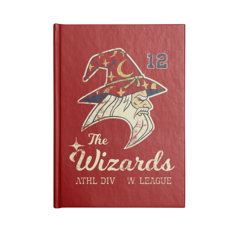 Wizards Varsity Accessories Lined Journal Notebook by Jake Giddens' Shop