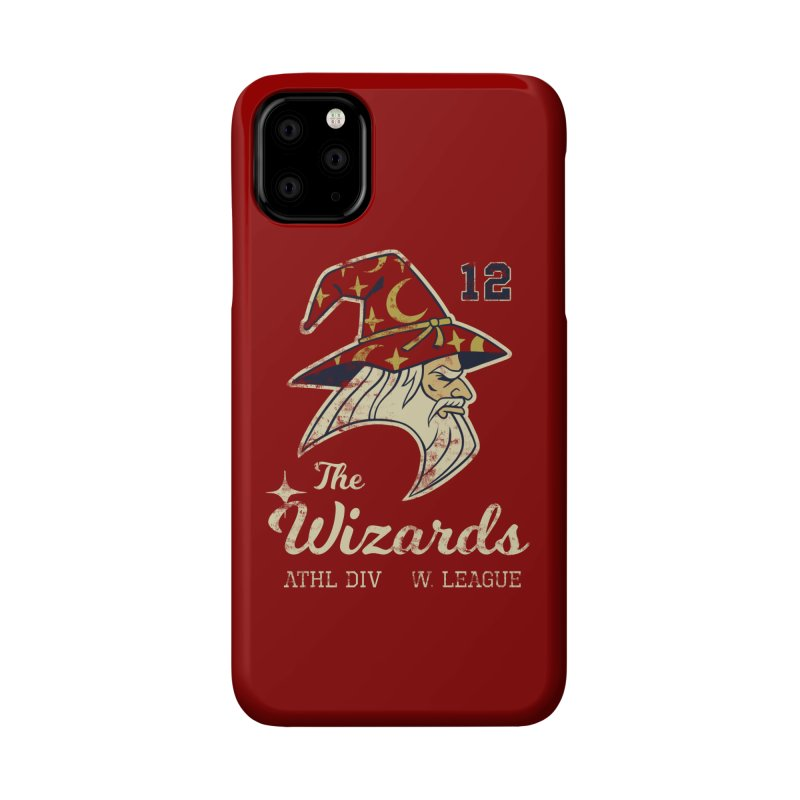 Wizards Varsity Accessories Phone Case by Jake Giddens' Shop
