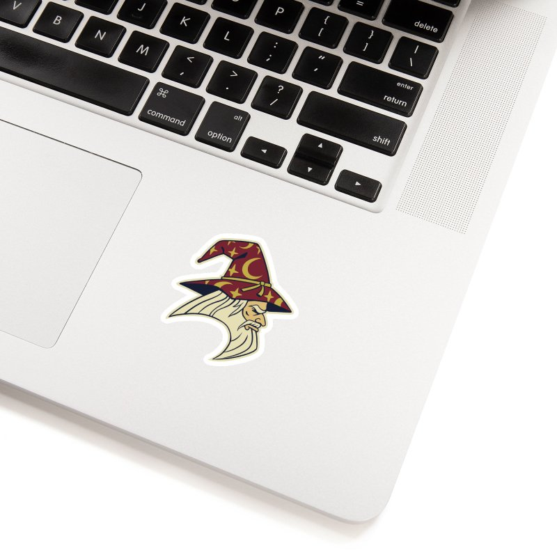 Wizards Varsity Accessories Sticker by Jake Giddens' Shop