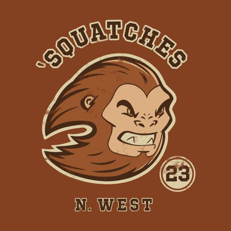Sasquatch Varsity Men's T-Shirt by Jake Giddens' Shop