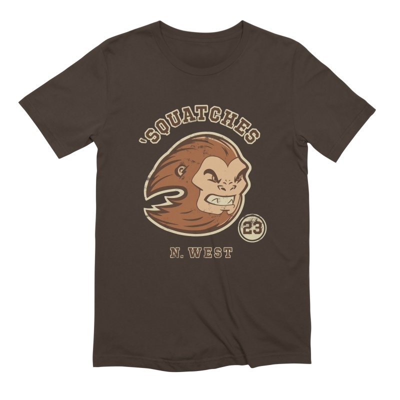 Sasquatch Varsity Men's Extra Soft T-Shirt by Jake Giddens' Shop