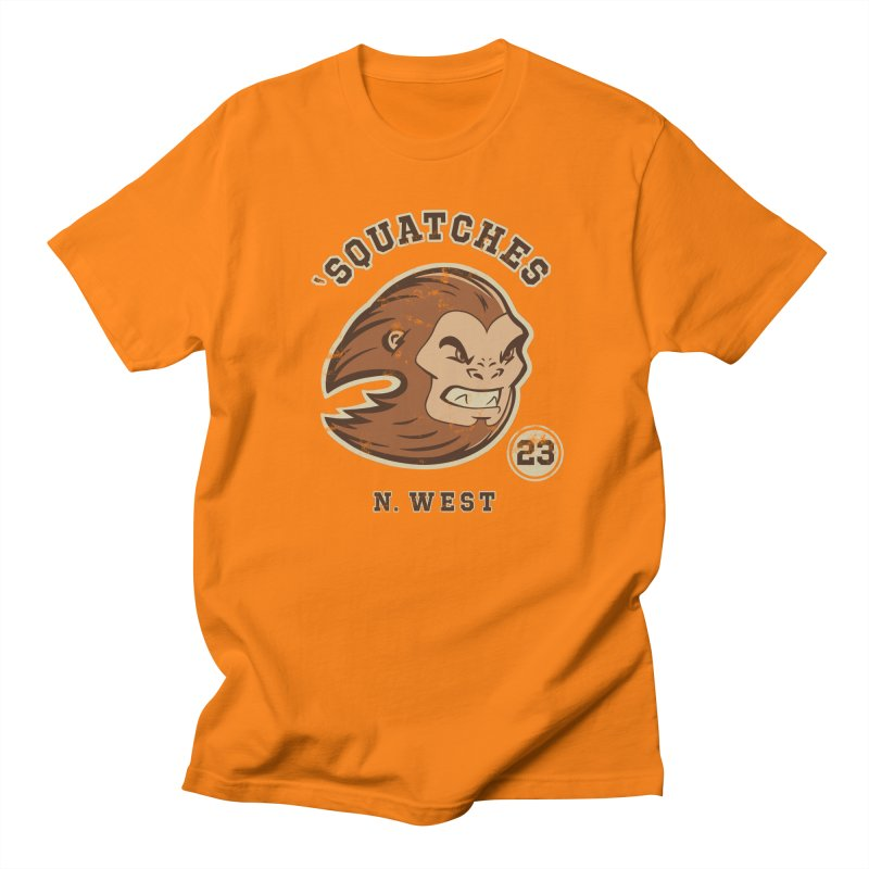 Sasquatch Varsity Men's Regular T-Shirt by Jake Giddens' Shop