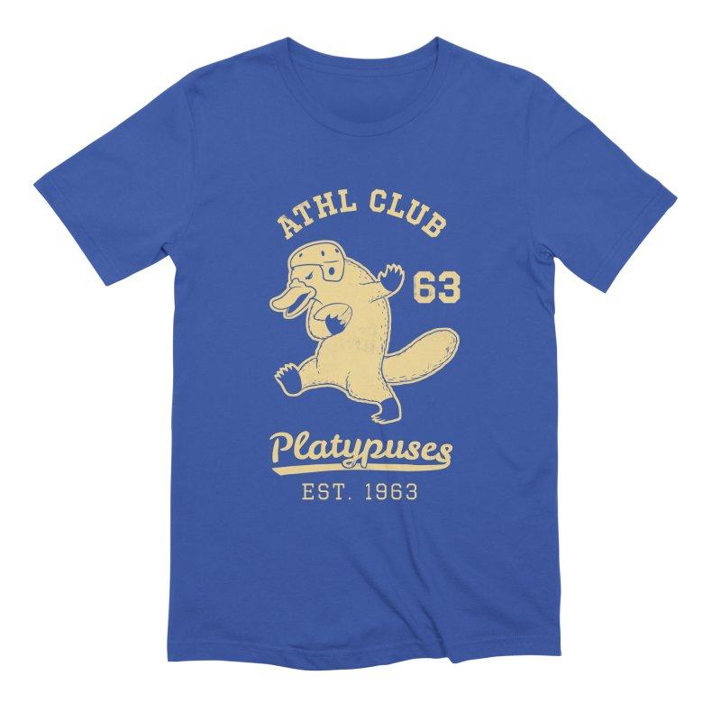 Platypus Varsity Men's T-Shirt by Jake Giddens' Shop