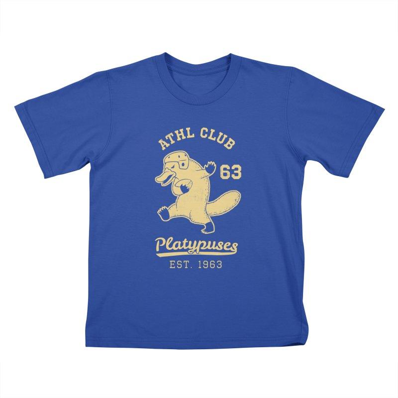 Platypus Varsity Kids T-Shirt by Jake Giddens' Shop