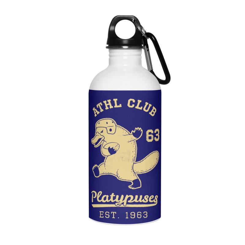 Platypus Varsity Accessories Water Bottle by Jake Giddens' Shop