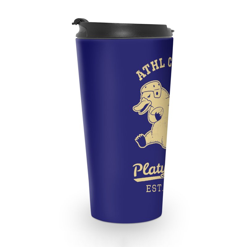 Platypus Varsity Accessories Travel Mug by Jake Giddens' Shop