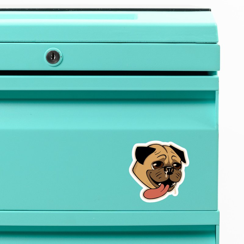 The Drooling Pugs Accessories Magnet by Jake Giddens' Shop