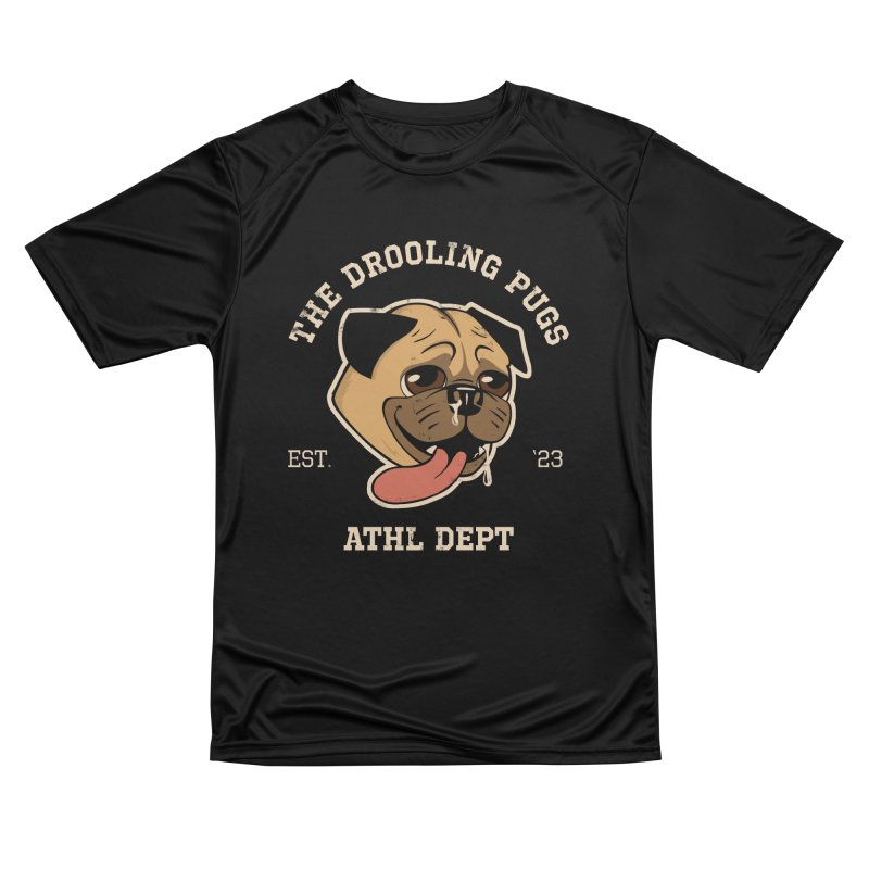 The Drooling Pugs Men's Performance T-Shirt by Jake Giddens' Shop