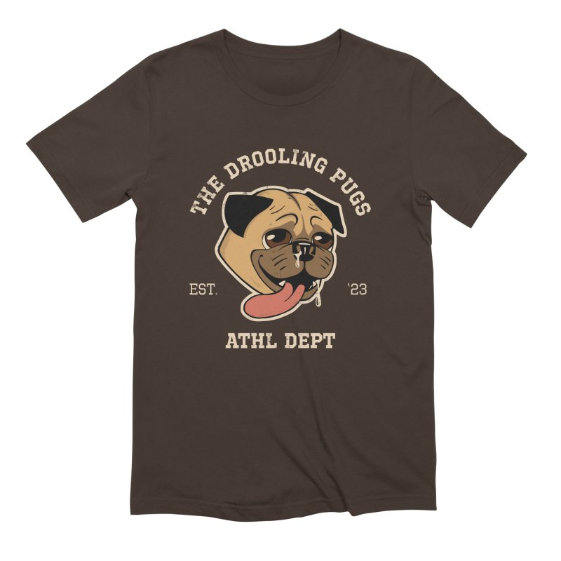 The Drooling Pugs Men's Extra Soft T-Shirt by Jake Giddens' Shop