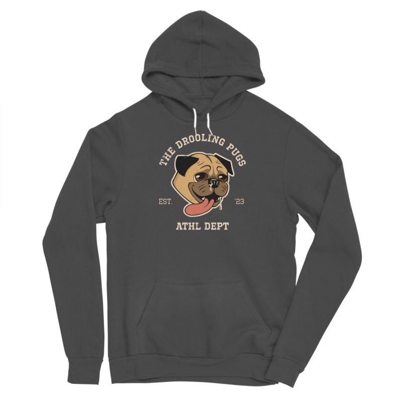 The Drooling Pugs Men's Sponge Fleece Pullover Hoody by Jake Giddens' Shop