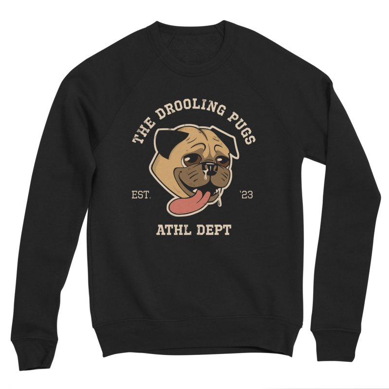 The Drooling Pugs Women's Sponge Fleece Sweatshirt by Jake Giddens' Shop
