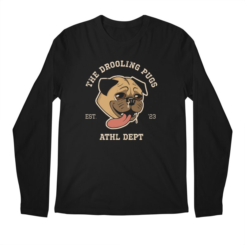 The Drooling Pugs Men's Regular Longsleeve T-Shirt by Jake Giddens' Shop