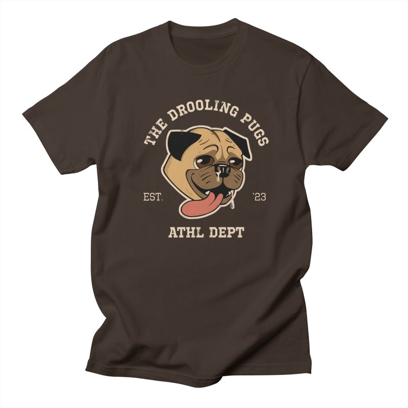 The Drooling Pugs Men's Regular T-Shirt by Jake Giddens' Shop
