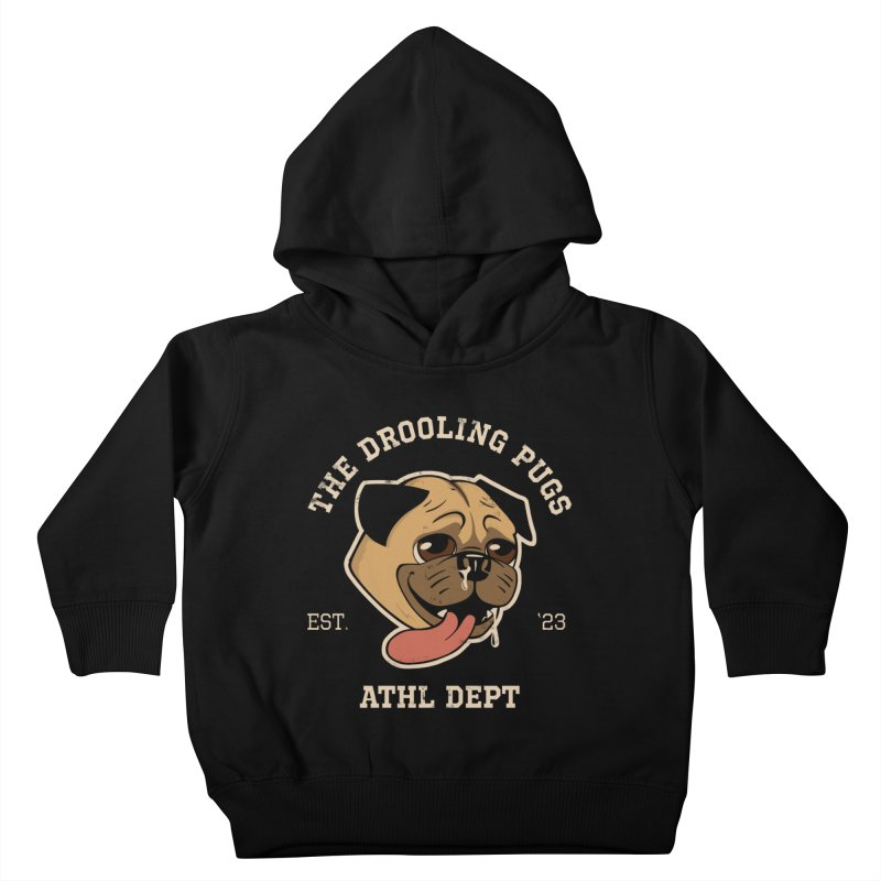 The Drooling Pugs Kids Toddler Pullover Hoody by Jake Giddens' Shop