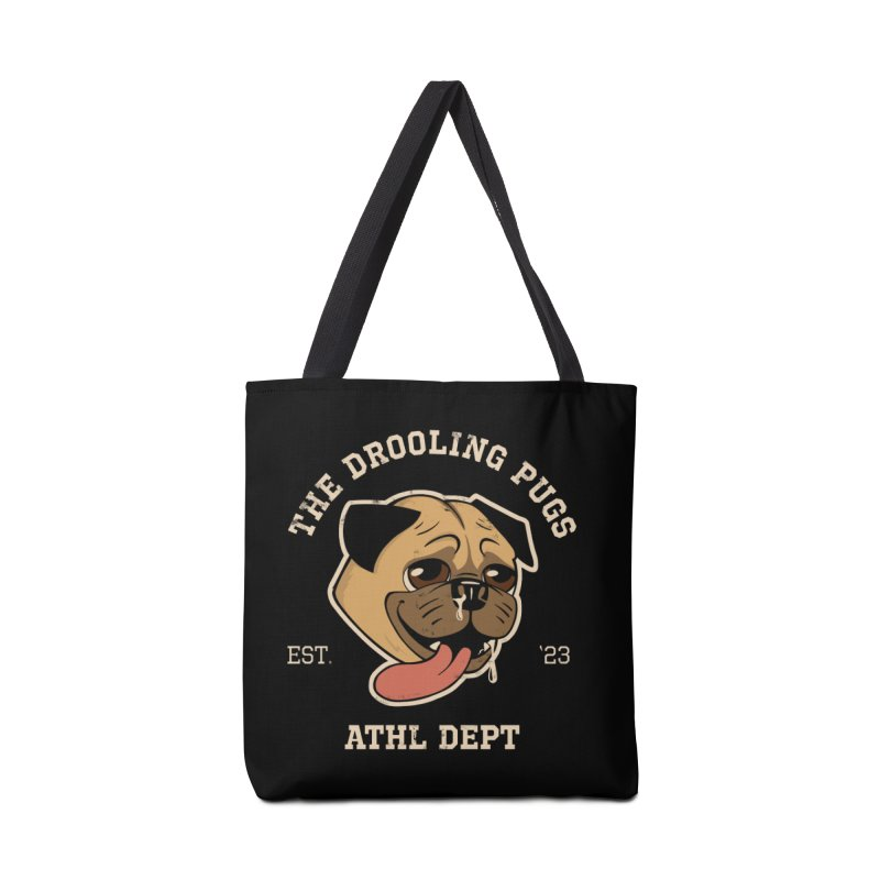 The Drooling Pugs Accessories Tote Bag Bag by Jake Giddens' Shop