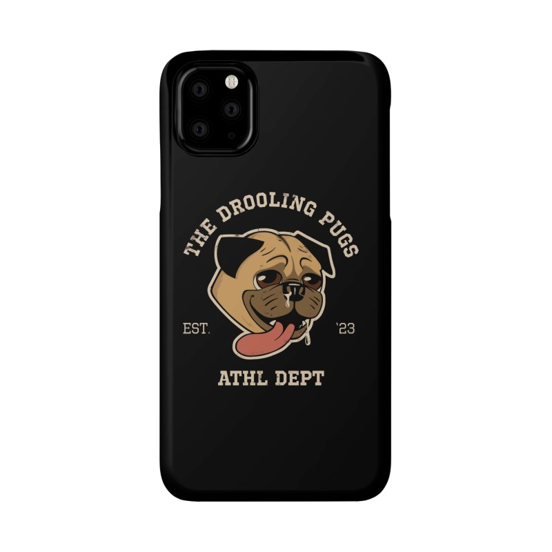 The Drooling Pugs Accessories Phone Case by Jake Giddens' Shop